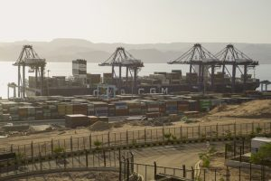 BOX VOLUME PEAKS AT AQABA GATEWAY